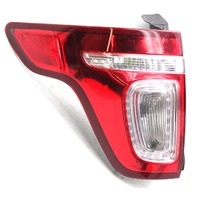 OEM Police Explorer Left Tail Lamp DB5Z-13405-B - Housing Hole & Water Spots