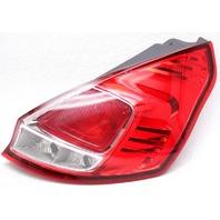 OEM Ford Fiesta Hatchback Right Passenger Side Halogen Tail Lamp Lens Crack