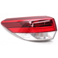 OEM Toyota Highlander Outer Left LED Tail Lamp 81560-0E161 - Lens Chip