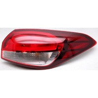 OEM Kia Forte Sedan Right Passenger Side Tail Lamp Lens Crack 92402-B0600