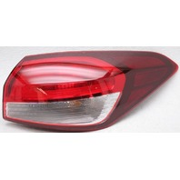OEM Kia Forte Sedan Right Passenger Side Tail Lamp Lens Crack
