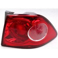 OEM Kia Magentis, Optima Right Passenger Side Tail Lamp Lens Cracks