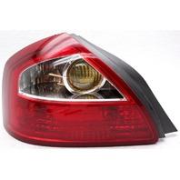 OEM Infiniti Q45 Left Driver Side Halogen Tail Lamp Lens Flaw 26555AR026