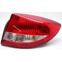 OEM Kia Rio Sedan Right Passenger Side Halogen Tail Lamp Lens Chip