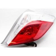 OEM Toyota Yaris Hatchback Right Passenger Side Halogen Tail Lamp Lens Chips