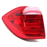 OEM Mercedes-Benz GL-Class (166 Type) Outer Left Tail Lamp 166-906-75-01