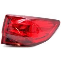 OEM Acura MDX Right Passenger Side Tail Lamp Lens Crack 33500-TZ5-A02