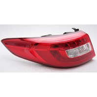 OEM Hyundai Sonata Outer Left Driver Side LED Tail Lamp 92401-C2100 - Lens Crack