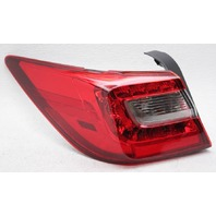 OEM Subaru Legacy Sedan Outer Left Tail Lamp 84912-AL10A - Lens Chipped