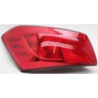 OEM Kia Forte Koup Left Driver Side Tail Lamp Lens Chip