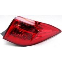 OEM Toyota Corolla Sedan Right Passenger Side Tail Lamp Trim Crack