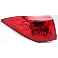 OEM Toyota Corolla Sedan Left Driver Side Halogen Tail Lamp Trim Crack