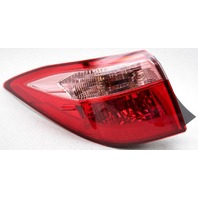 OEM Toyota Corolla Sedan Left Driver Side Halogen Tail Lamp Lens Chipped
