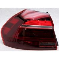 OEM Volkswagen Passat Left Driver Side LED Tail Lamp Lens Crack