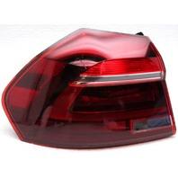 OEM Volkswagen Passat Left Driver Side LED Tail Lamp Lens Chips