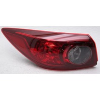 OEM Mazda 3 Sedan Outer Left Driver Side Tail Lamp BJT1-51-160A - Lens Chip