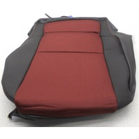 OEM Hyundai Genesis Coupe Right Passenger Side Front Lower Seat Cover Black Red