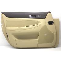 OEM Hyundai Genesis Front Door Trim Panel 82301-3M291Y2 Cashmere