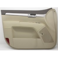 OEM Kia Borrego Front Driver Door Trim Panel 82301-2J251J7 Beige