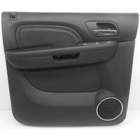 OEM GMC Sierra 1500 Crew Cab LH Rear Inner Door Panel Leather 20919805