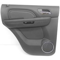 OEM GMC Yukon Denali LH Driver Side Rear Inner Door Panel Black 20919811