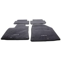 OEM Hyundai Ioniq 4-Piece Black Carpet Floor Mat Set G2F14-AU000