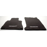 OEM Hyundai Genesis Floor Mat Set B1114-ADU00RNB Chocolate Brown