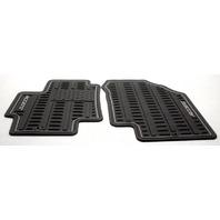 OEM Hyundai Accent Front Floor Mats U8130-1E100 Black