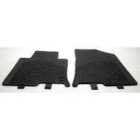 OEM Hyundai Sonata Front Floor Mats C1F13-AC021 Black