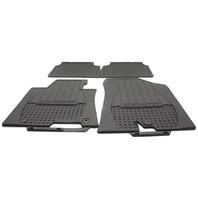 OEM Hyundai Elantra GT 4-Piece Rubber All Weather Floor Mat Set A5013-ADU00