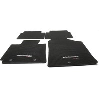 OEM Hyundai Veloster R-Spec 4-Piece Black Carpet Floor Mat Set 2VF14-AC400