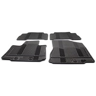 OEM Kia Sorento 4-Piece Black Rubber All Weather Floor Mat Set U8140-3M002M5