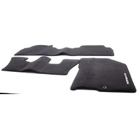 OEM Kia Sorento 3-Piece Black Carpet Floor Mat Set C6114-ADU00