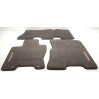 OEM Kia Borrego 3-Piece Beige Floor Mat Set P8140-2J001AR