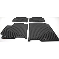 OEM Kia Rio & Rio5 4-Piece All Weather Rubber Floor Mat Set H9F13-AU000