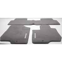 OEM Kia Rondo 4-Piece Gray Carpet Floor Mat Set P8140-1D010S8