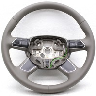 OEM Audi Q7 Steering Wheel 4L0 419 091 AC N60 Beige