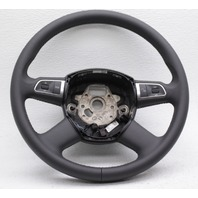 OEM Audi A6, A8, Q7, S6, S8 Black Leather 4-Spoke Steering Wheel 4E0419091CMW88