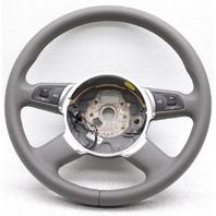 OEM Audi S8 Steering Wheel 4E0419091CC1LT Gray
