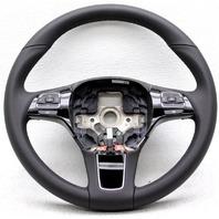 OEM Volkswagen Touareg Steering Wheel 7P6419091NGB Black