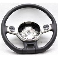 OEM Volkswagen Beetle Steering Wheel 5C0419091ANP7W Black