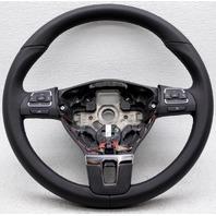 OEM Volkswagen Jetta Steering Wheel 5C0419091ZRP Black, Gray