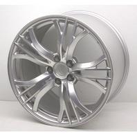 "OEM Audi R8 19x11"" 20 Spoke Silver Rear Wheel 420-601-025-BL Option: C6N"