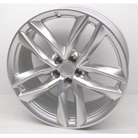 "OEM Audi Q7 21"" Alloy 5-Double Spoke Wheel 4M0-601-025-BF - Nicks & Rub Marks"
