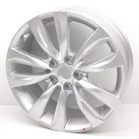 """OEM Kia Sorento 18x7"""" 10 Spoke Silver Alloy Wheel 52910-2P185 - Light Scratches"""