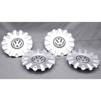 "OEM Volkswagen Golf Set of 4 Center Caps for the 17"" Geneva Wheel 5G0-601-149"