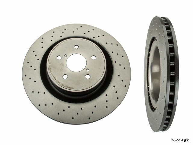 Brembo 09.A300.11 UV Coated Front Disc Brake Rotor