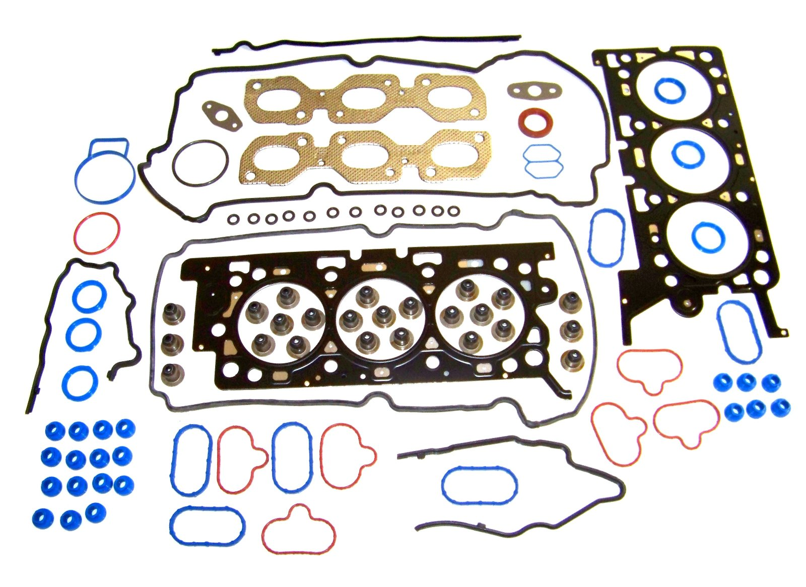 Multi-Layer Steel Ford Taurus Head Gasket Set 2001 To 2007-3.0L V6 OHV