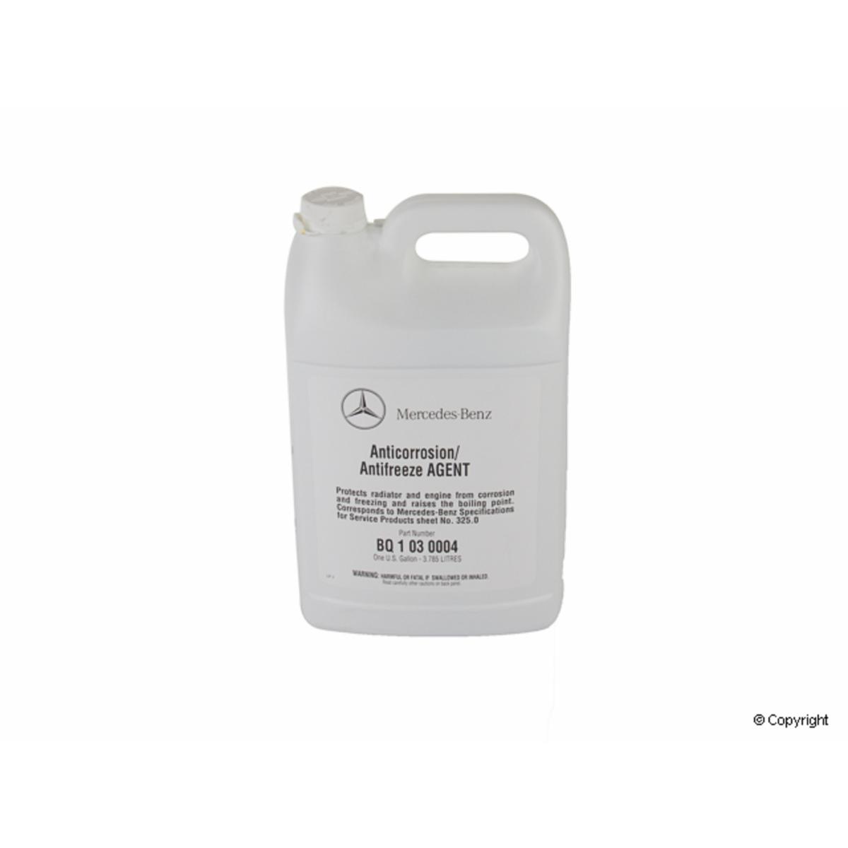 Engine Coolant Antifreeze-Genuine WD EXPRESS 971 33003 001