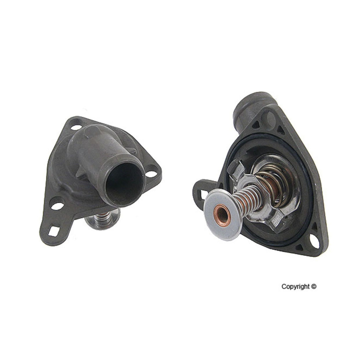Engine Coolant Thermostat Housing Assembly-Integrated Housing Motorad 432-170